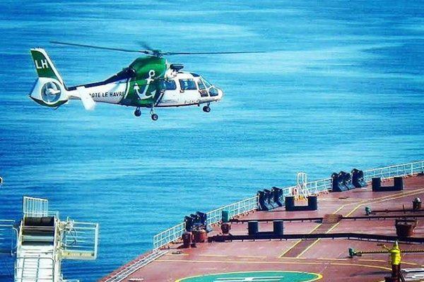 Hélicopter LH, Station de Pilotage du Havre
